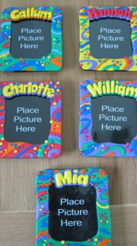Childrens Named Photo Frame 14CM X 12CM Andrew Enlarged Preview