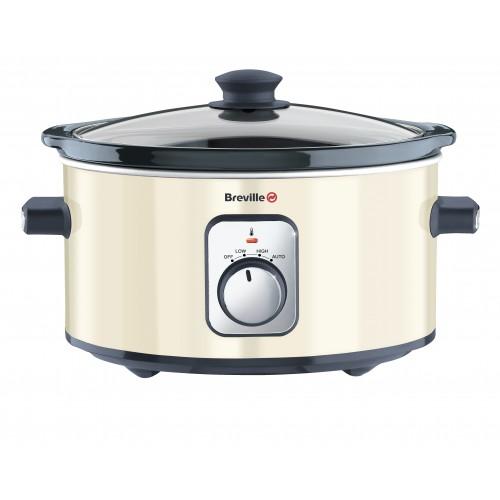 breville vtp185 cream 3 5l soup casserole slow cooker 3 settings crock pot new. Black Bedroom Furniture Sets. Home Design Ideas
