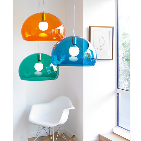 Kartell Fly Roof Ceiling Light Lamp Shade For Bedroom