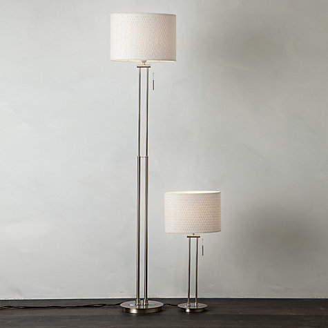 Preston Table Floor Lamp Light Shade Duo For Bedroom Lounge Living Dini