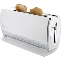 russell hobbs 14390 7 browning levels glass touch toaster brand new ebay. Black Bedroom Furniture Sets. Home Design Ideas