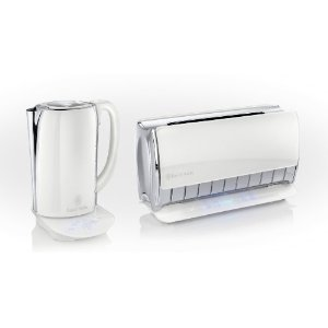 russell hobbs 18372 glass touch kettle and toaster twin pack set brand new ebay. Black Bedroom Furniture Sets. Home Design Ideas