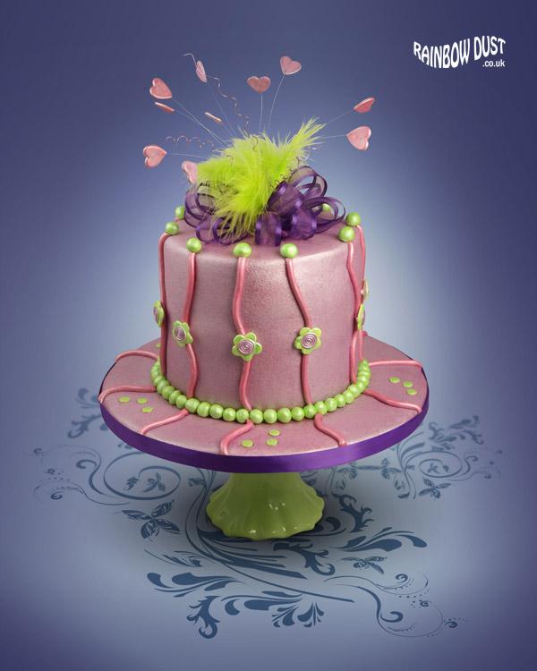 edible cake paint recipe