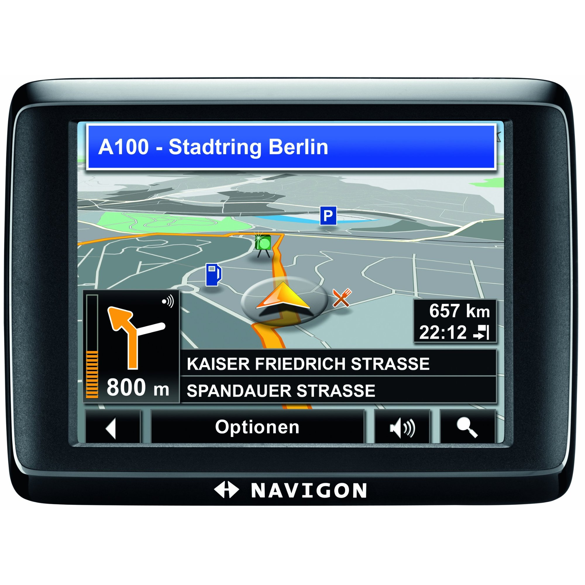 navigon 1400 uk roi gps sat nav satellite navigation ebay. Black Bedroom Furniture Sets. Home Design Ideas