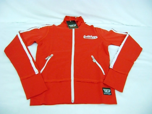 GOLDDIGGA SPORTS TRACKSUIT JACKET & BOTTOMS RED SZ 12 Enlarged Preview