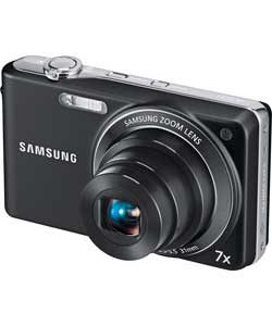 Samsung PL201 14MP Digital Compact Camera Black Enlarged Preview