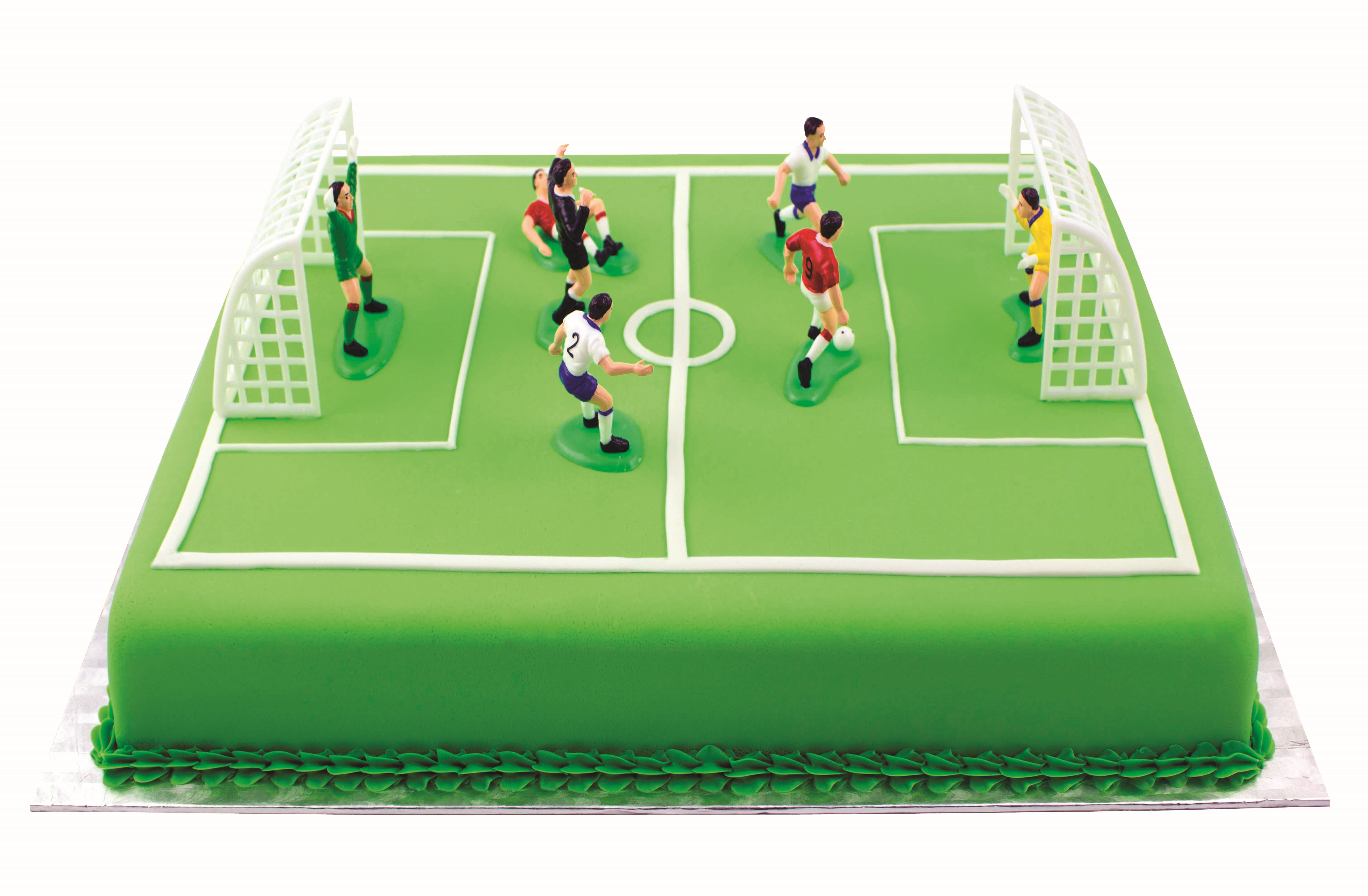 Cake Decorating Football Field : PME Soccer Football Cake Topper Decorations Birthday Cake ...
