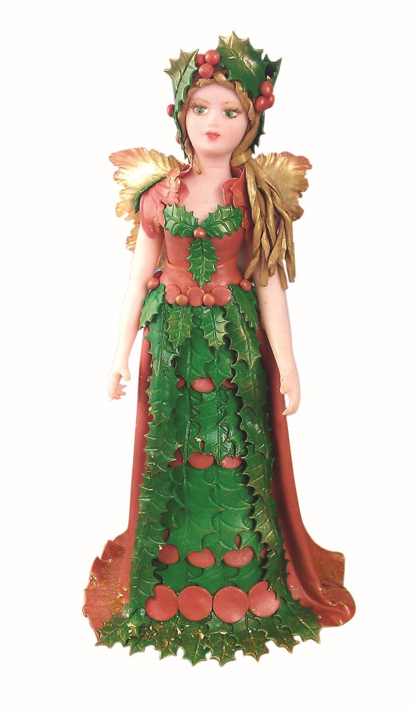 Pme Lady Women People Persons Figurine Mould Mold