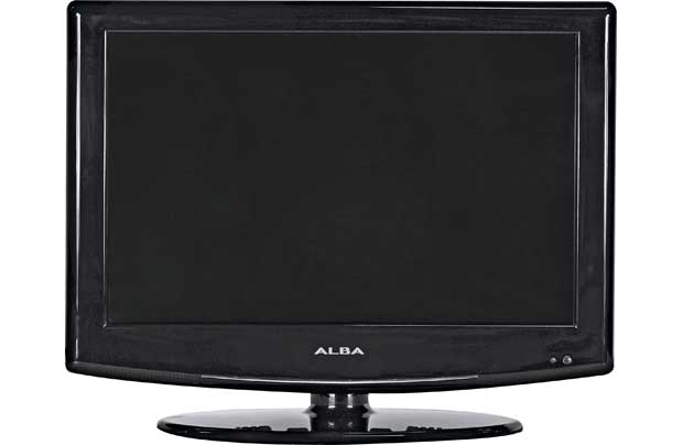 alba 16 cfd1671a hd ready digital freeview lcd tv dvd combi black. Black Bedroom Furniture Sets. Home Design Ideas