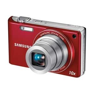 Samsung PL211 14MP Digital Compact Camera - Red **TOP CONDITION** Enlarged Preview