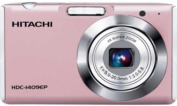 Hitachi HDC1409 14MP Digital Camera - Pink **ORIGINAL BOX** Enlarged Preview