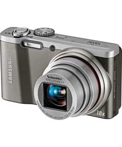 Samsung WB690 12MP Digital Compact Camera - Silver Enlarged Preview