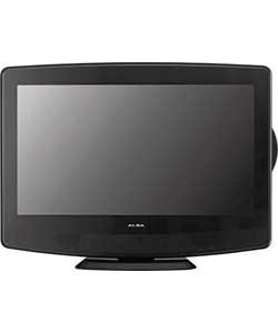 alba 19 inch hd ready freeview lcd tv dvd combi black ebay. Black Bedroom Furniture Sets. Home Design Ideas