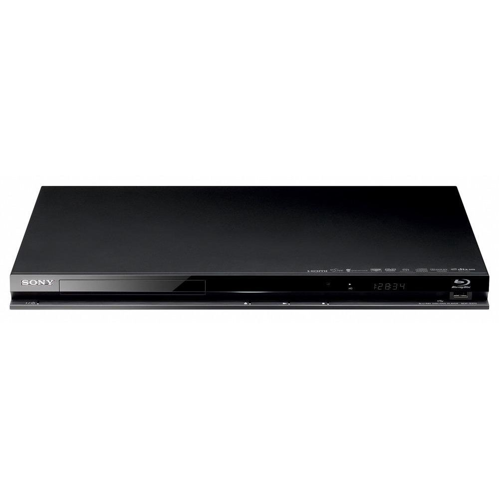 sony bdp370 blu ray disk dvd player black hdmi usb port. Black Bedroom Furniture Sets. Home Design Ideas