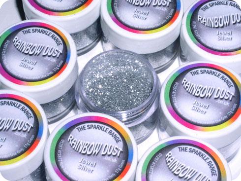 Rainbow Dust Sparkle Glitter & Edible Silk Range Baking ...