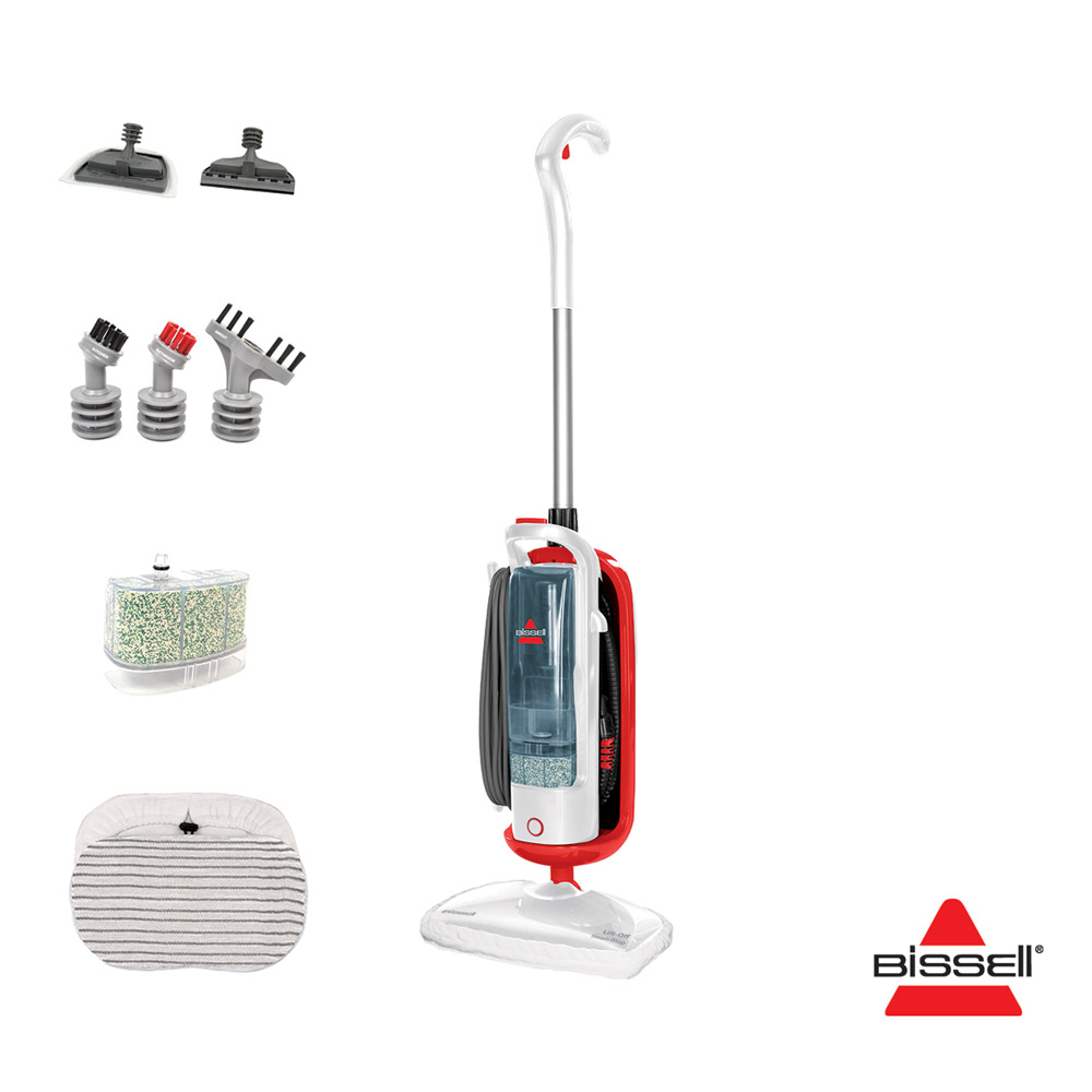 Bissell 23b6 Lift Off 1600w Upright Handheld Steam Mop