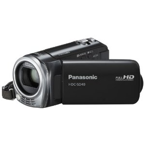 Panasonic SD40 Full HD Digital Video Camcorder Camera - Black *Top Condition* Enlarged Preview