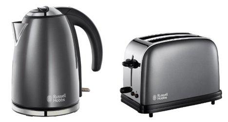 russell hobbs passend wasserkocher 18944 2 scheiben toaster sturm grau 18954 ebay. Black Bedroom Furniture Sets. Home Design Ideas