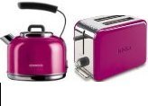 kenwood ttm029 2 scheiben toaster skm039 traditionell combo magenta rosa ebay. Black Bedroom Furniture Sets. Home Design Ideas