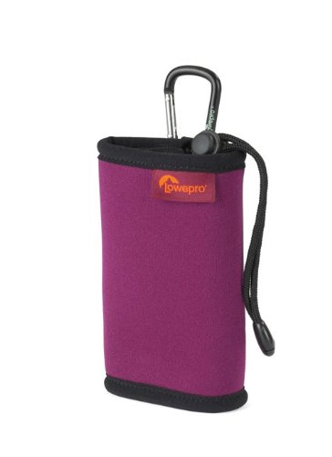 Lowepro Hipshot 20 Case Pouch Bag Digital Compact Camera Camcorder Cherry Black Enlarged Preview