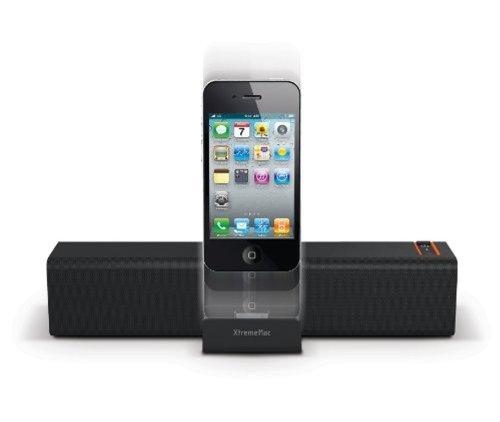 XtremeMac Soma Viaggi altoparlante portatile della stazione del bacino di sistema per iPad iPhone iPod allargata Anteprima