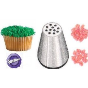 Cake Decorating Tips To Make Grass : Wilton #233 Multi Open Decorating Tip Icing Nozzle Hair ...