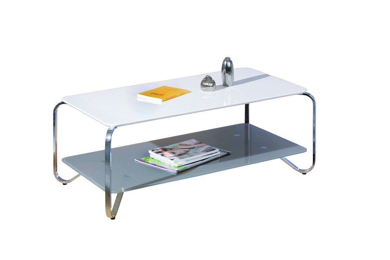 Wohnzimmertisch Tisch Wohnzimmer Couchtisch Weiss Massiv