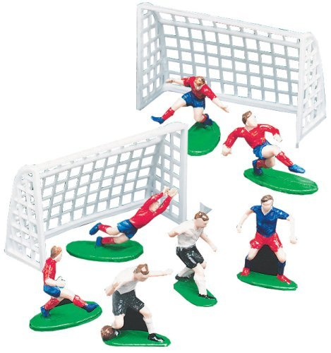 Wilton Soccer Football Cake Topper Set Decorations ...