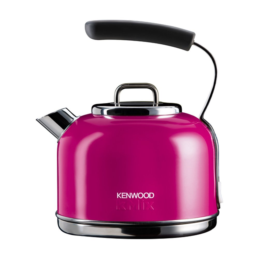 kenwood skm039a kmix 2200w 1 2l traditionell edelstahl wasserkocher magenta ebay. Black Bedroom Furniture Sets. Home Design Ideas
