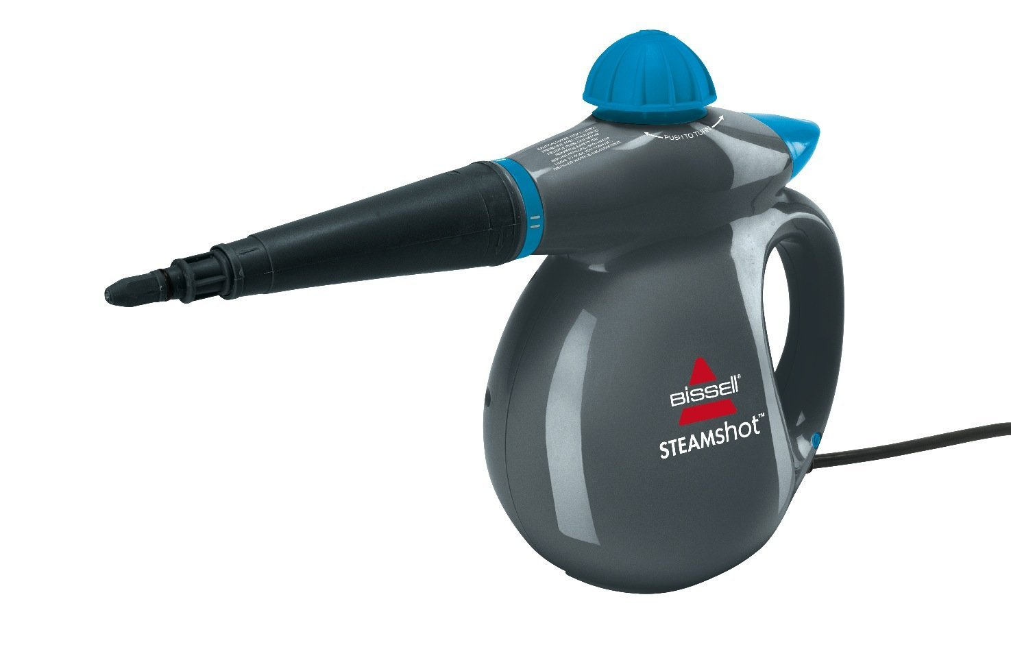 Power Steamers For Cleaning ~ Bissell q steam shot w power handheld cleaner