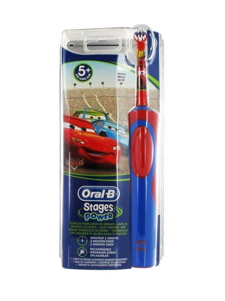 oral b stages power disney cars kinder wiederaufladbare. Black Bedroom Furniture Sets. Home Design Ideas
