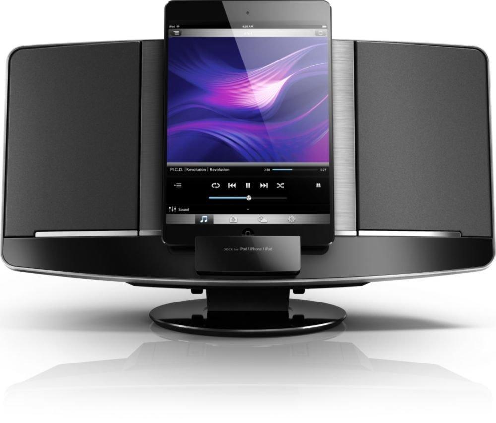 philips dcm2068 dockingstation lautsprecher mit lightning anschluss ipod iphone ebay. Black Bedroom Furniture Sets. Home Design Ideas
