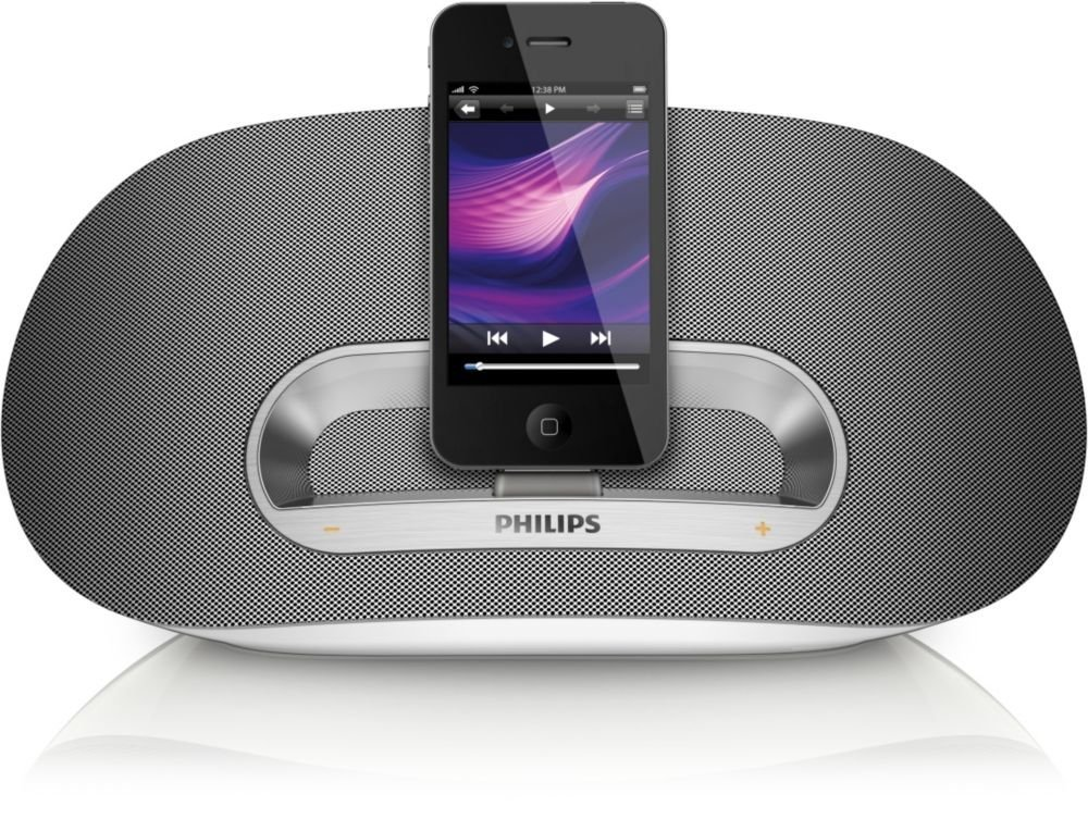 philips ds3600 bluetooth speaker dock station system ipad ipod iphone 2 3 4 4s ebay. Black Bedroom Furniture Sets. Home Design Ideas