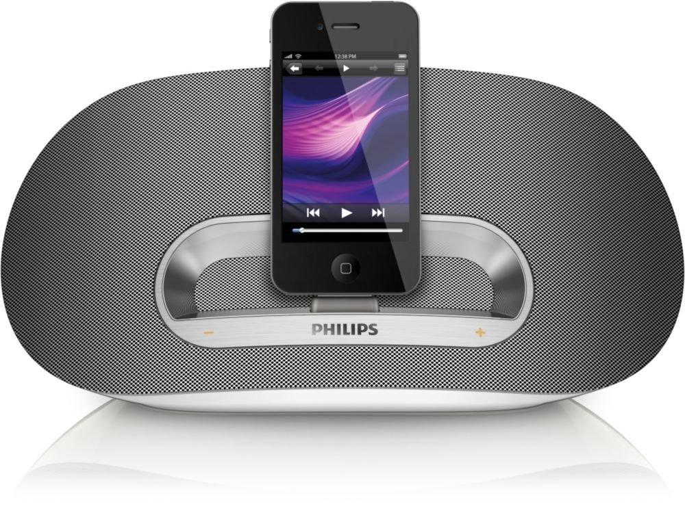 philips ds3600 bluetooth speaker dock station system ipad. Black Bedroom Furniture Sets. Home Design Ideas