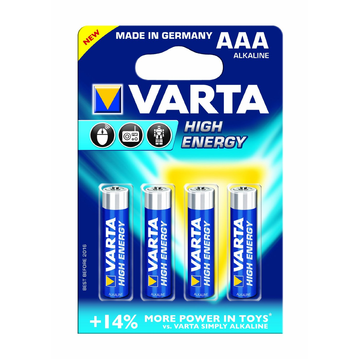 varta high energy aaa triple a alkaline 1 5 volt 1 5v. Black Bedroom Furniture Sets. Home Design Ideas