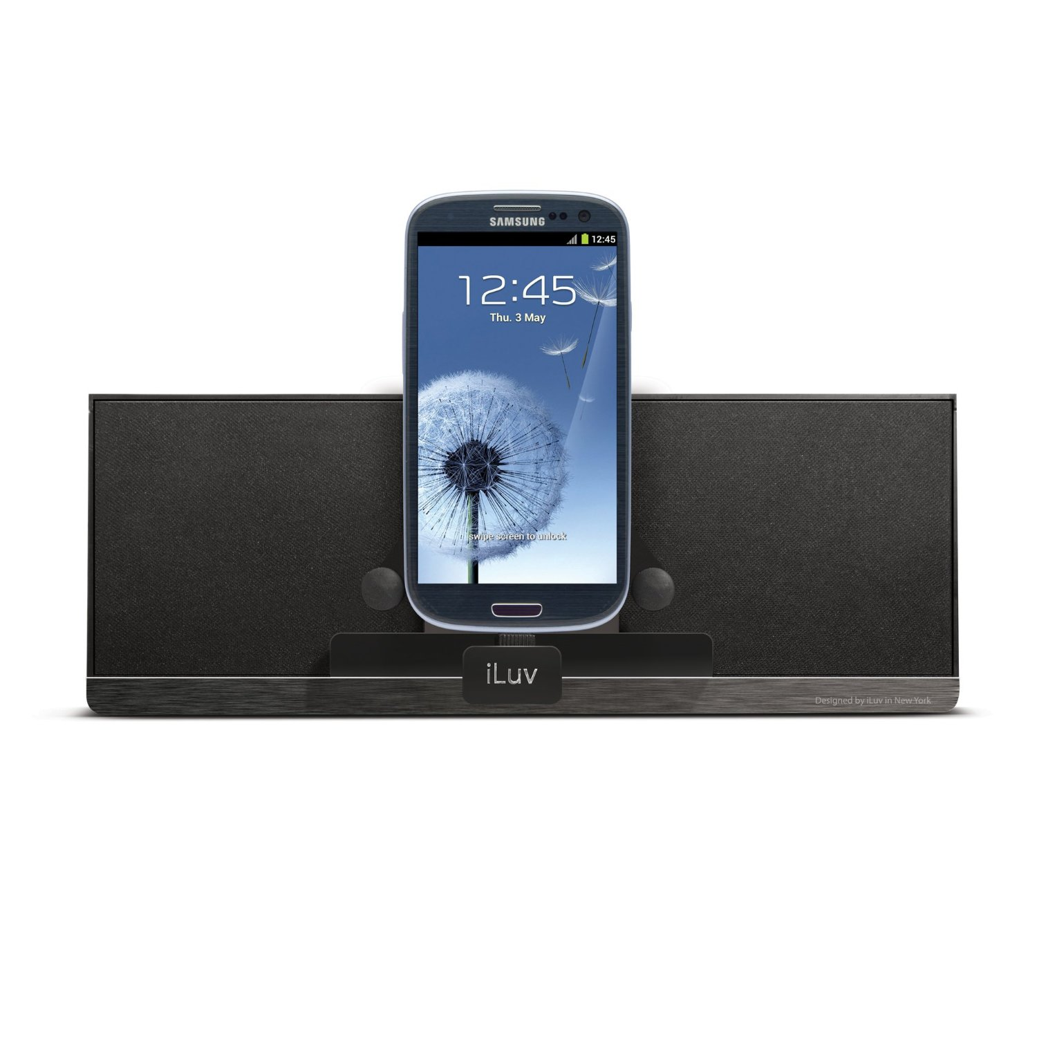 iluv ism378 wireless bluetooth speaker docking station for samsung android phone ebay. Black Bedroom Furniture Sets. Home Design Ideas