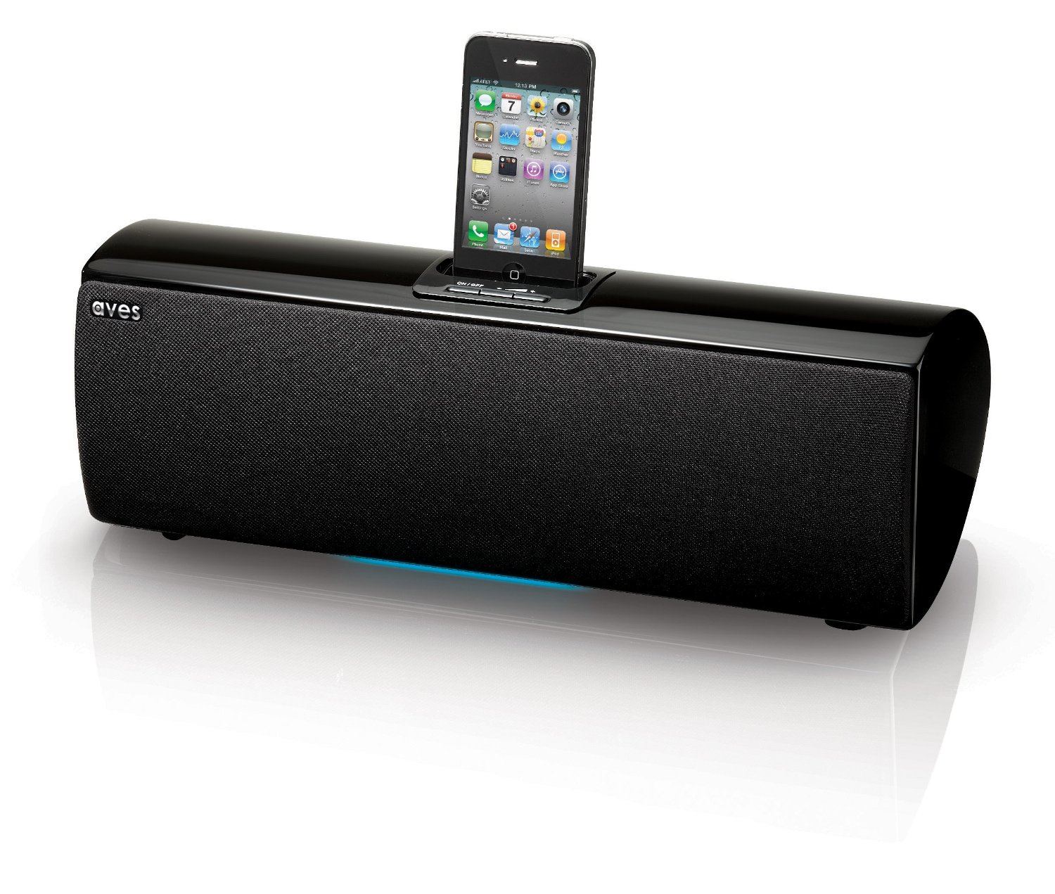 aves sapphire wireless bluetooth speaker with ipod iphone. Black Bedroom Furniture Sets. Home Design Ideas