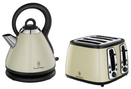 russell hobbs heritage kettle 18256 4 slice toaster. Black Bedroom Furniture Sets. Home Design Ideas