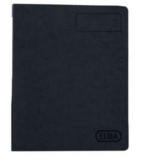 Elba A4 Pressboard 25mm Ring Binder File - Black Enlarged Preview