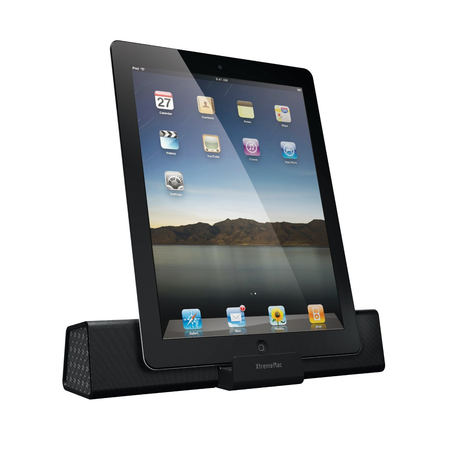 xtrememac soma travel portable speaker dock station system. Black Bedroom Furniture Sets. Home Design Ideas