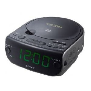 sony cd clock radio machine