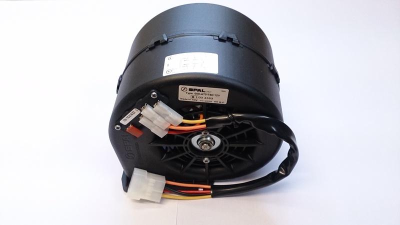 spal tvr cerbera heater fan blower 009 a70 74d 3 speed ebay. Black Bedroom Furniture Sets. Home Design Ideas