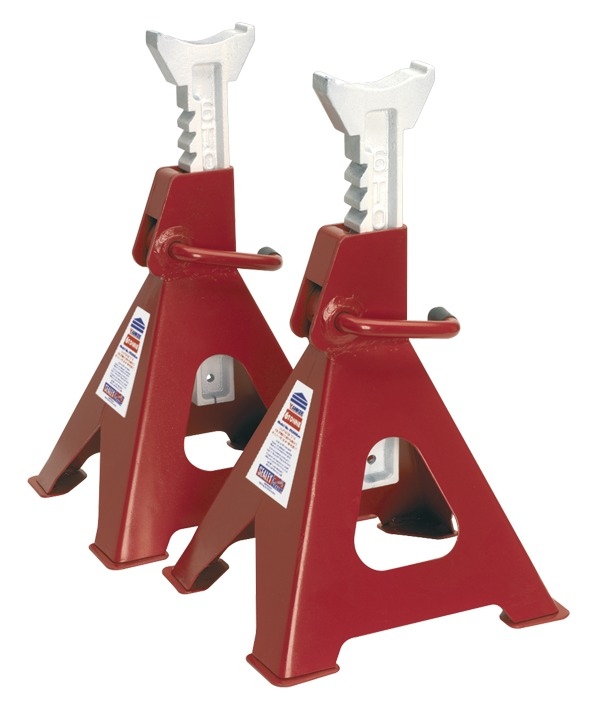 Sealey Ratchet Axle Stands 12 Ton Capacity Pair  VS2006