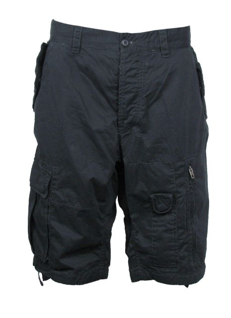 Mens-French-Connection-FCUK-Black-Cargo-Short
