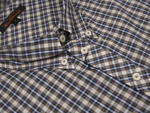 Mens Ben Sherman Shirt S/S Brown Check Plus/ King Size