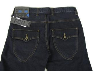 Mens FCUK Jeans Raw Washed Blue Denim Reg Fit 30 32 34 36 38 Preview