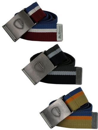 Mens Ben Sherman Mens Belt 'Canvas Sport Fabric' Preview