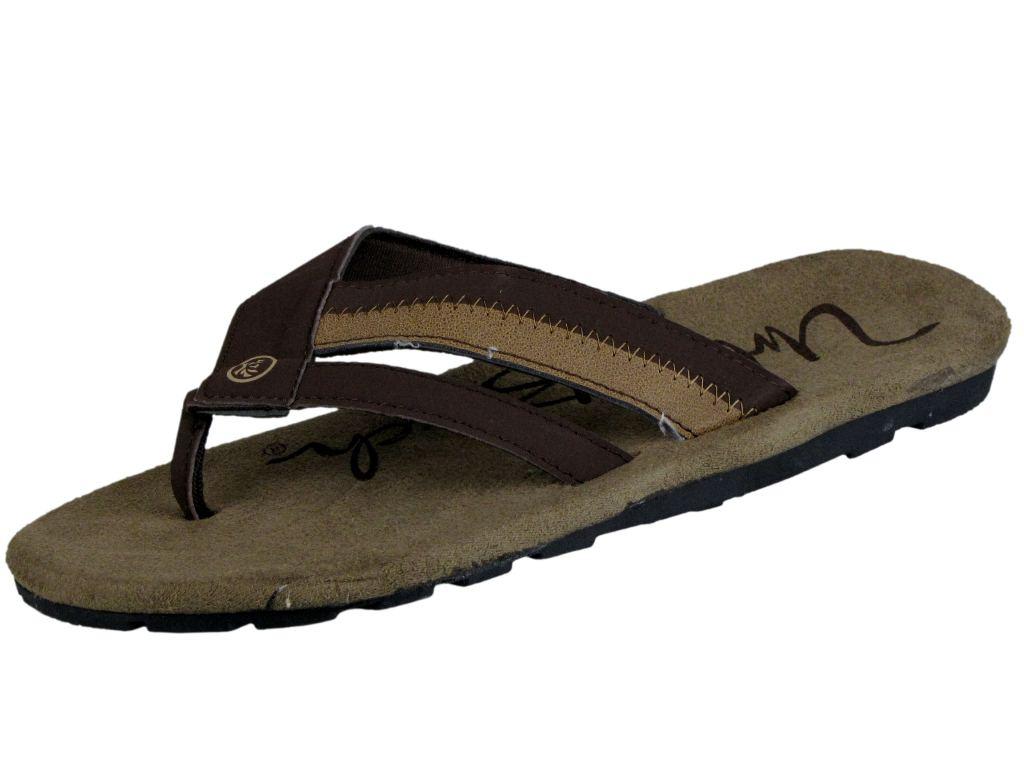Mens-Sandal-Flip-Flop-Urban-Beach-Textile-Toe-Post