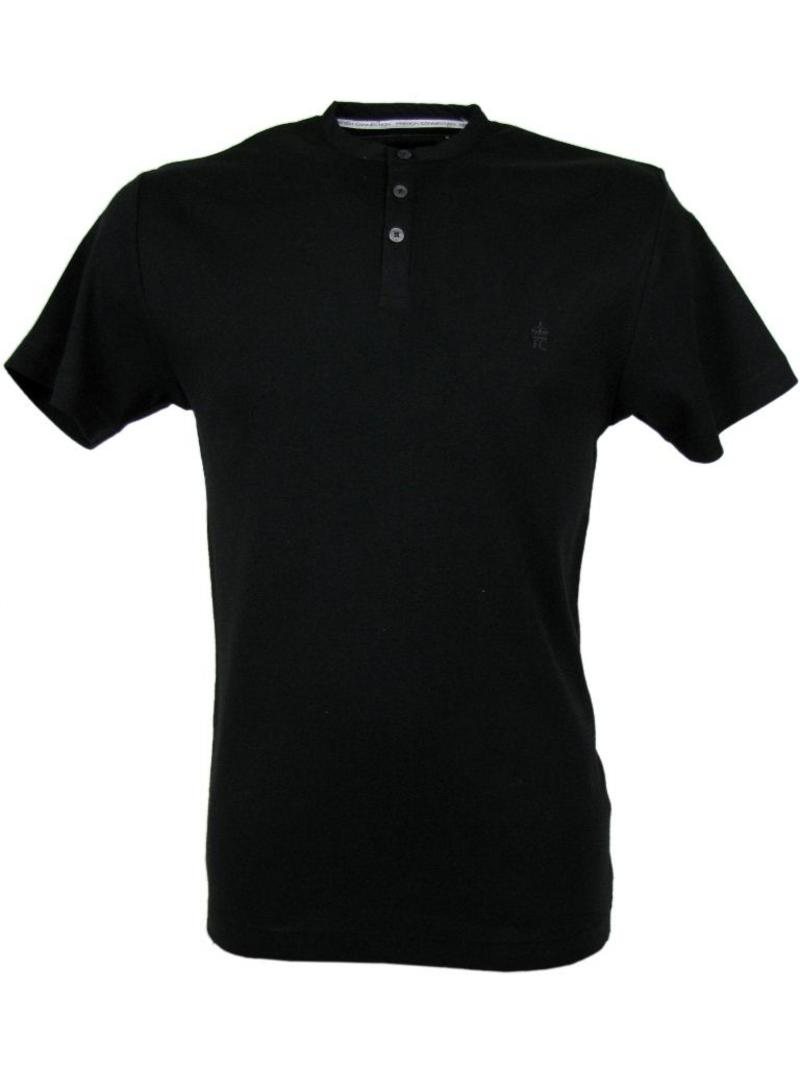 The Gallery For Black Collar T Shirts For Men