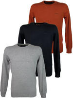 Mens Ben Sherman Crew Neck Jumper with Logo